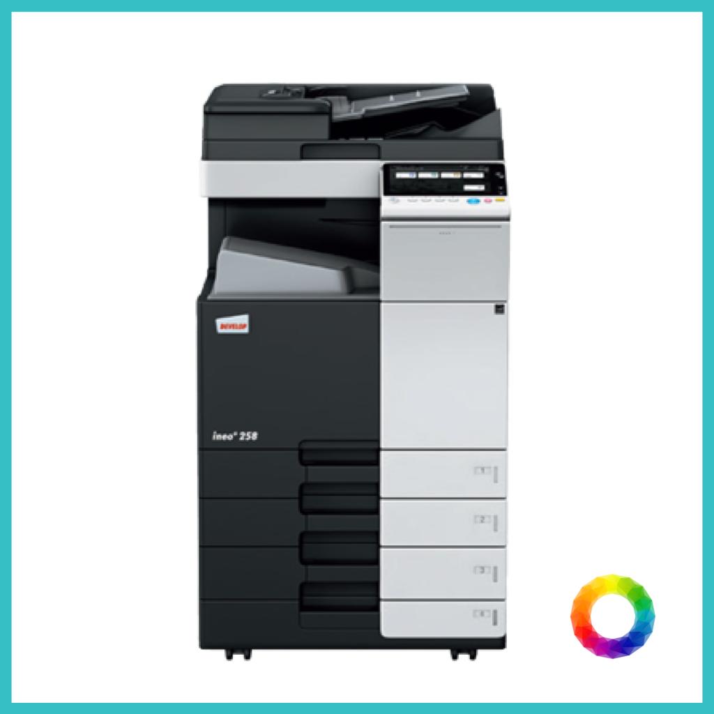 multifunction Konica C258-01 photocopier