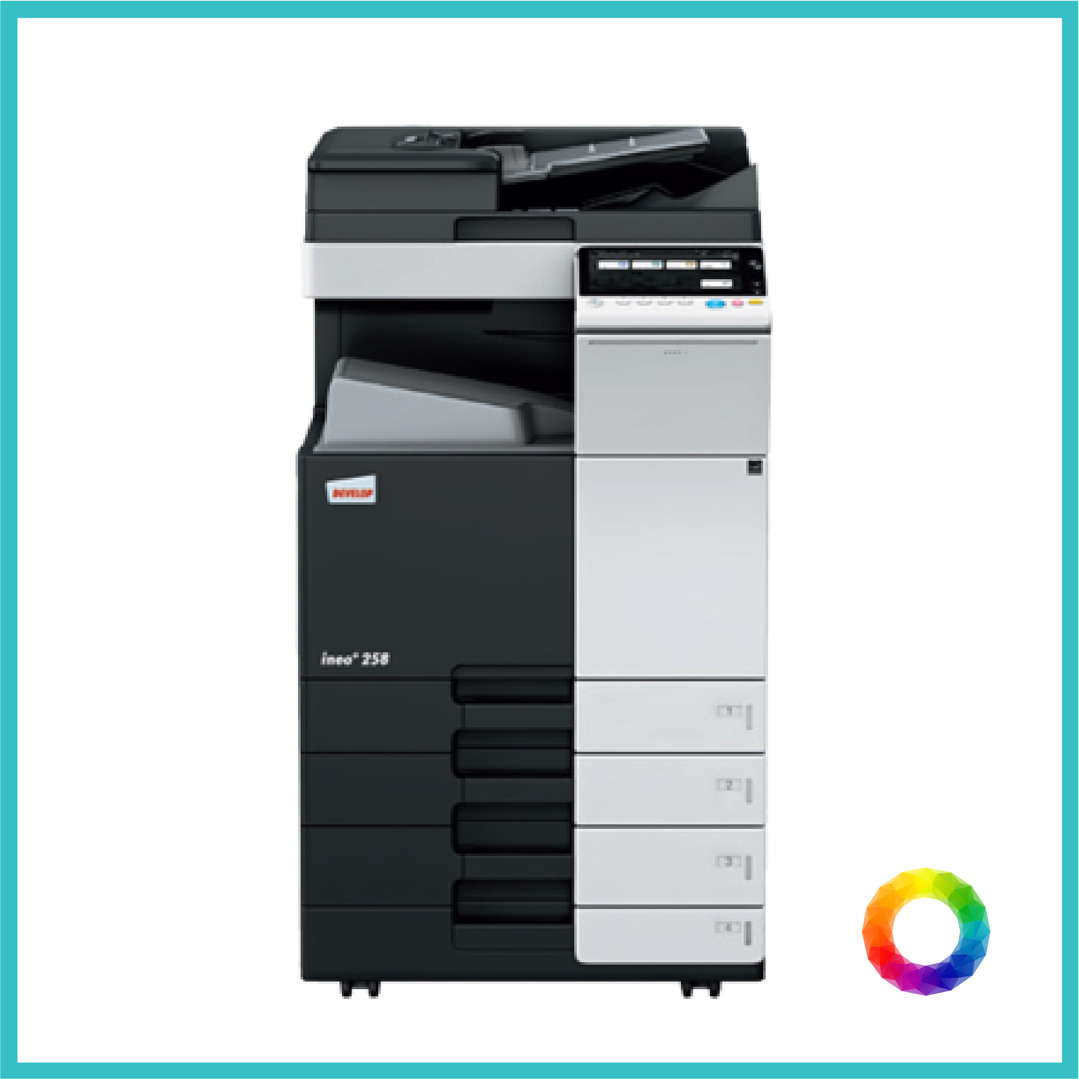 multifunction Konica C258-01 photocopier