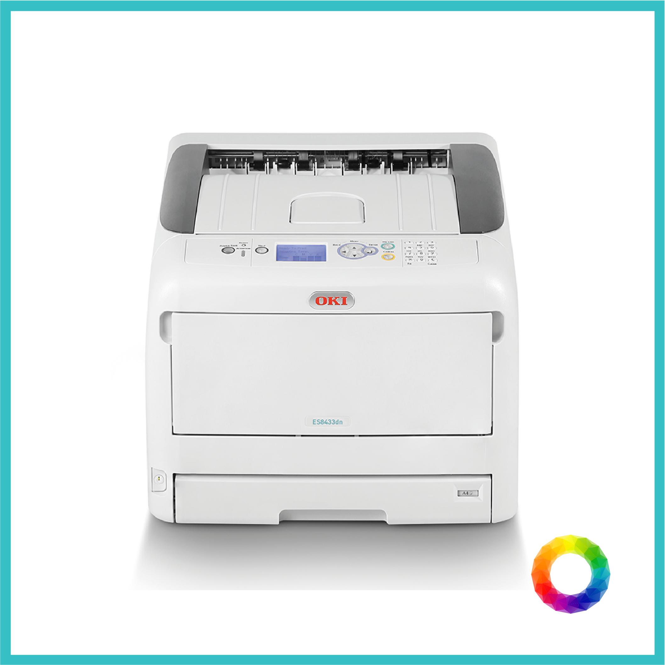 multipurpose OKI ES8443 photocopier