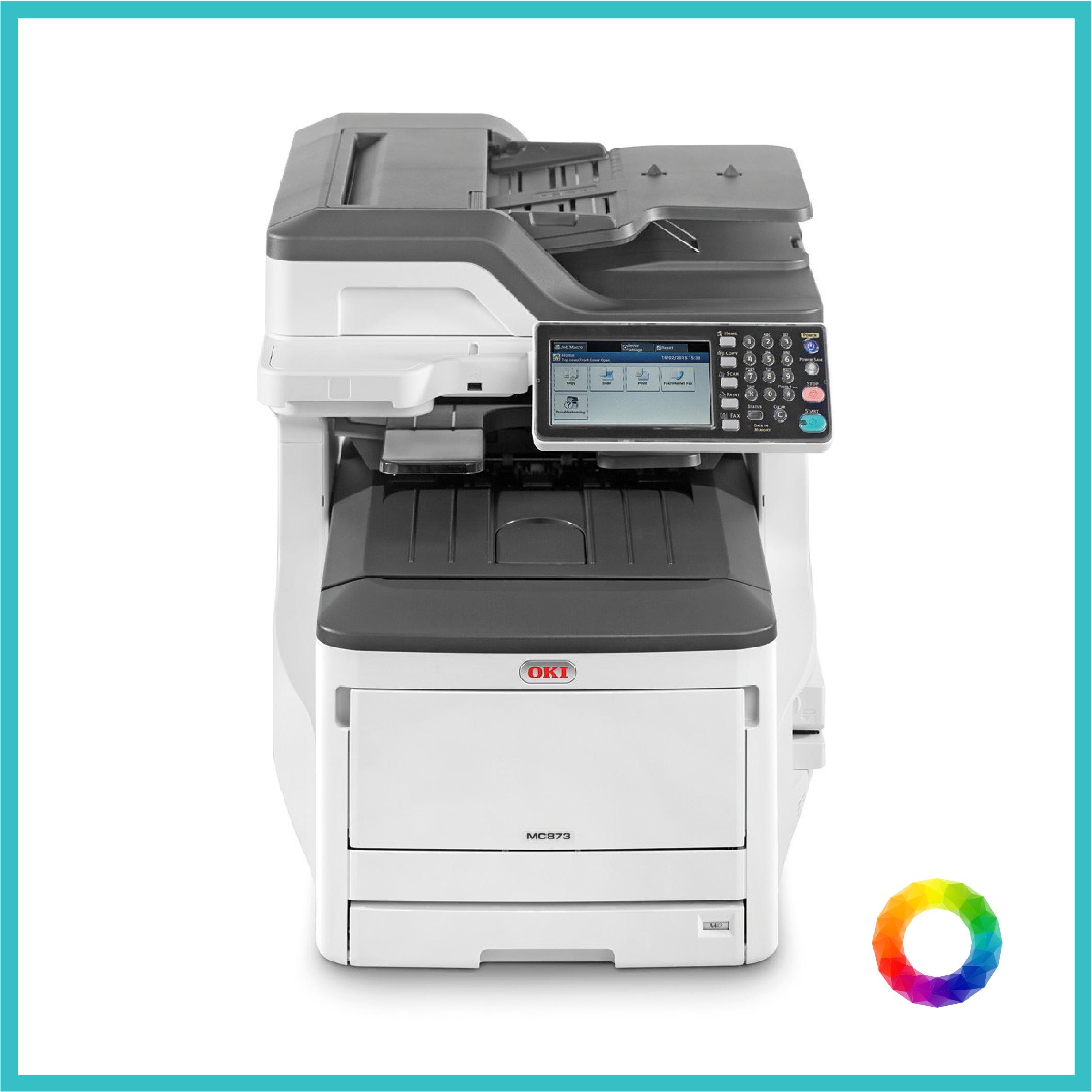 multipurpose OKI ES8473 photocopier