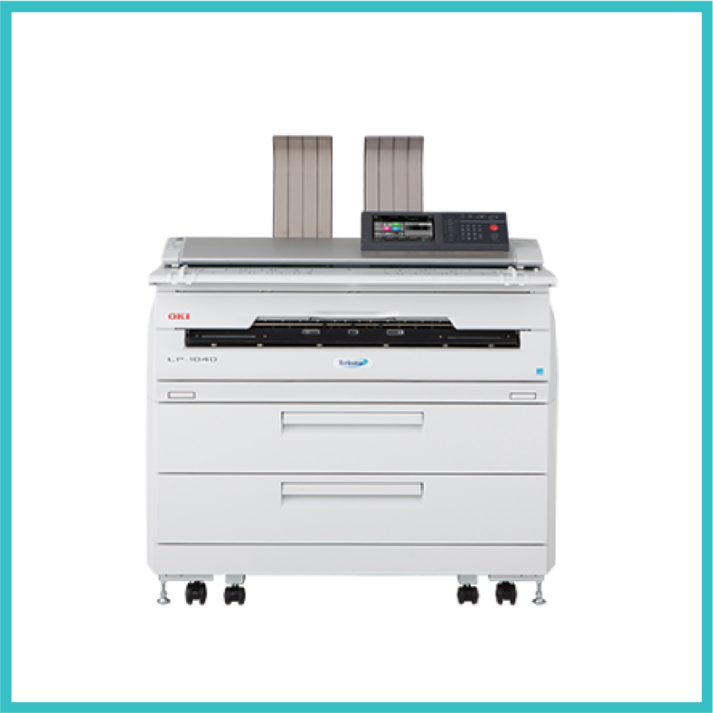 multipurpose OKI LP1040 photocopier
